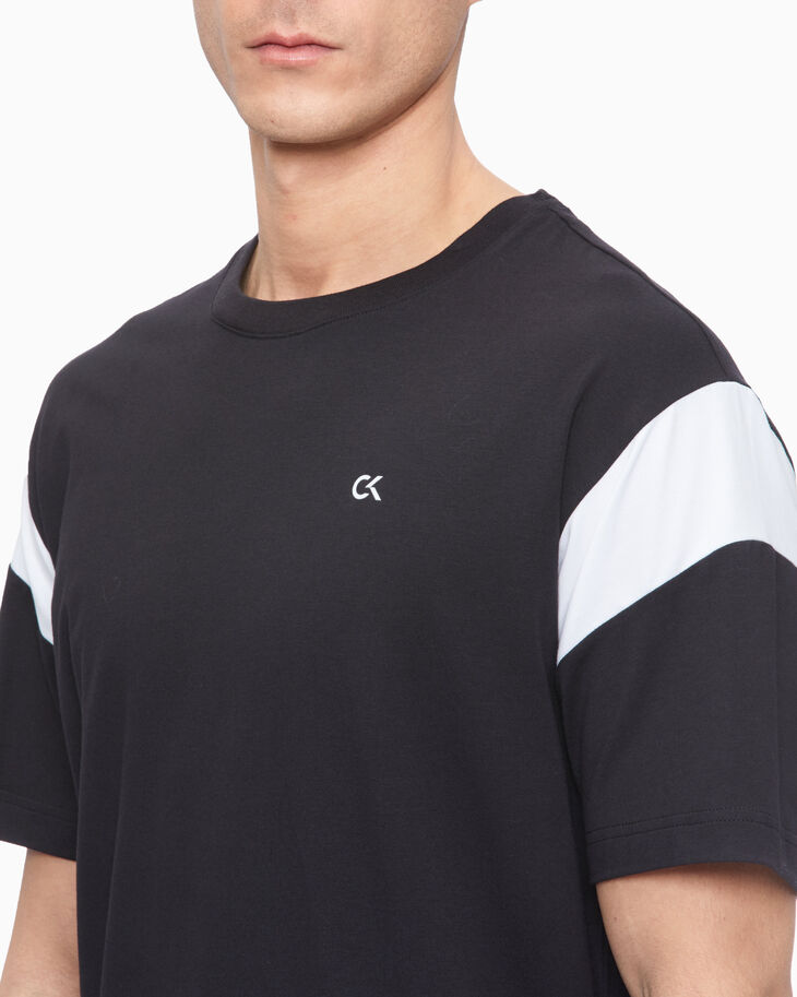 CALVIN KLEIN PERFORMANCE ICON COLOR BLOCK 上衣