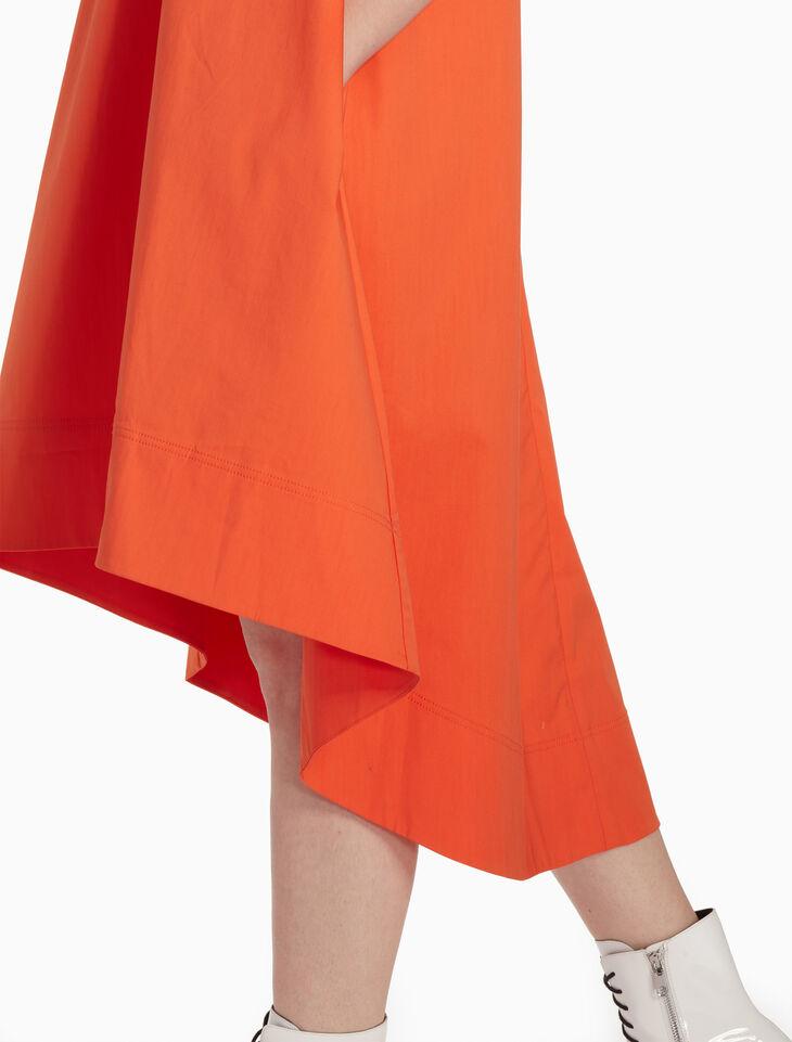 CALVIN KLEIN SOAPY TWILL SLEEVELESS DRESS
