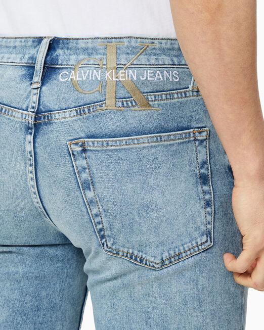 CALVIN KLEIN [박서준 데님] 남성 슬림핏 37.5 데님