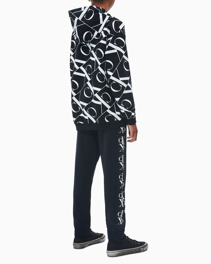 CALVIN KLEIN BOYS' MONOGRAM LOGO SWEATPANTS