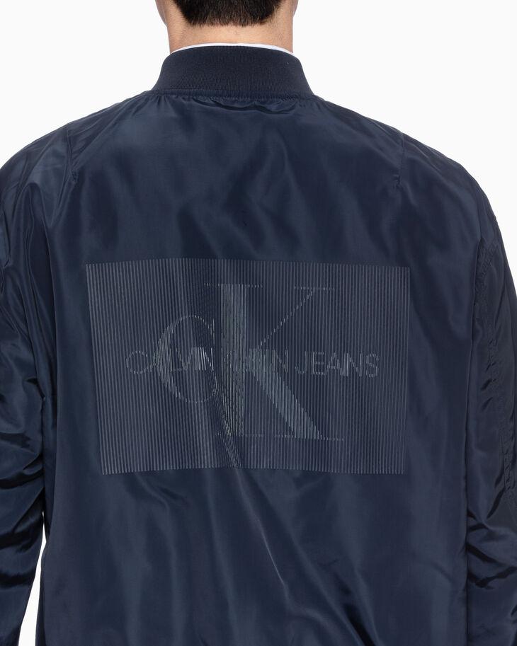 CALVIN KLEIN リバーシブル ボンバージャケット