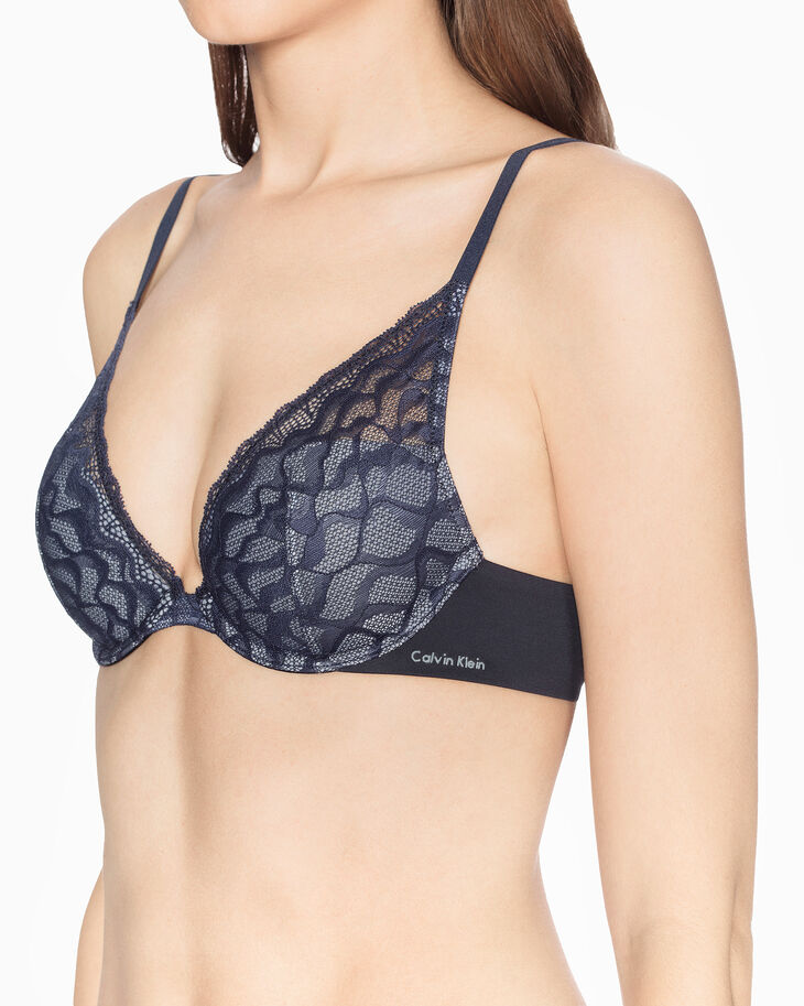 CALVIN KLEIN PERFECTLY FIT LIGHTLY LINED PLUNGE BRA