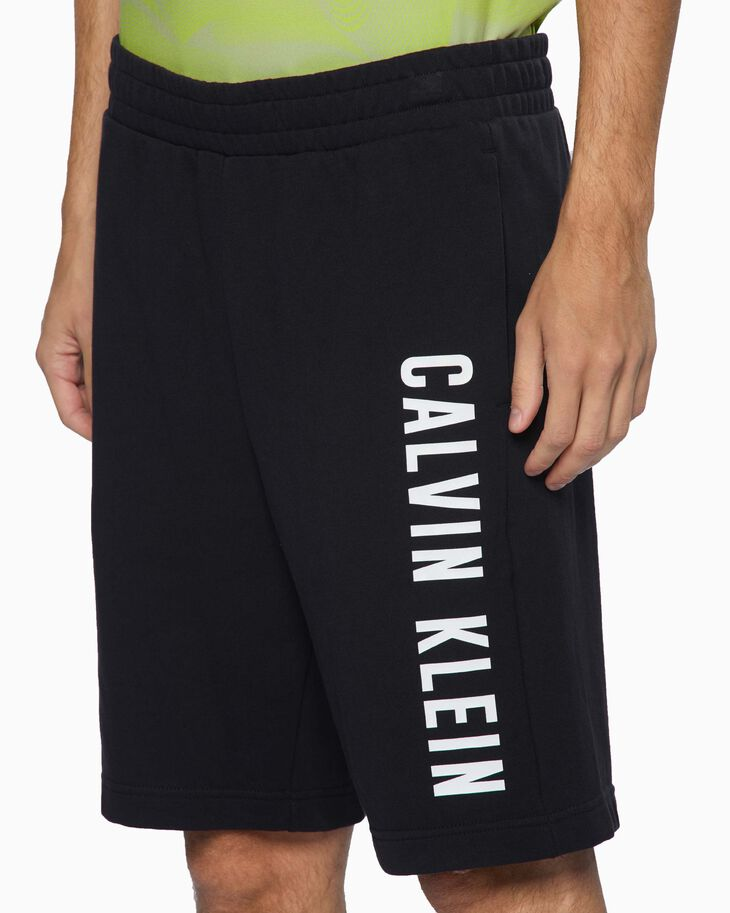 CALVIN KLEIN CORE LOGO KNIT SHORTS