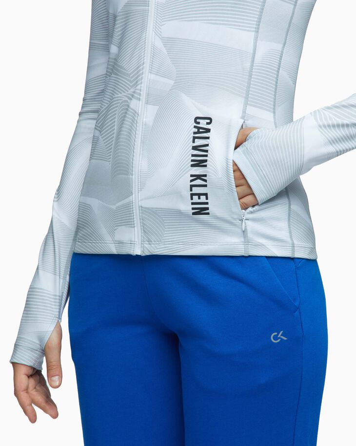 CALVIN KLEIN DIGITAL MOTION HOODED JACKET