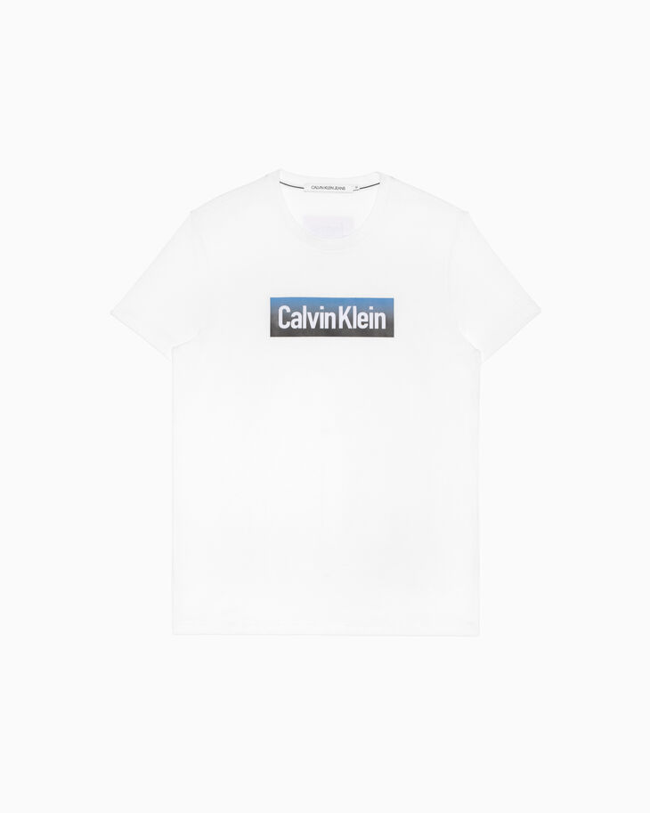 CALVIN KLEIN HOLLOW OUT ロゴ T シャツ