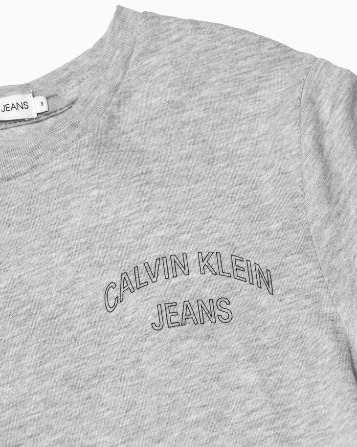CALVIN KLEIN BOY'S OUTLINE LOGO TEE