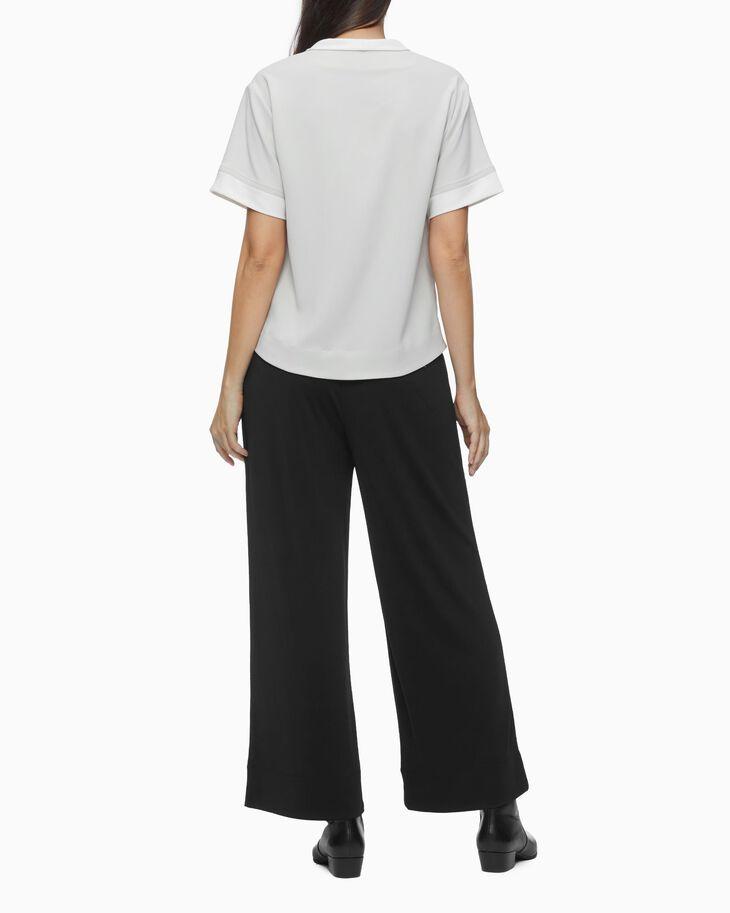 CALVIN KLEIN WIDE DRESS PANTS