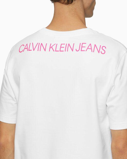 CALVIN KLEIN 남성 카 포토프린트 스웨트셔츠