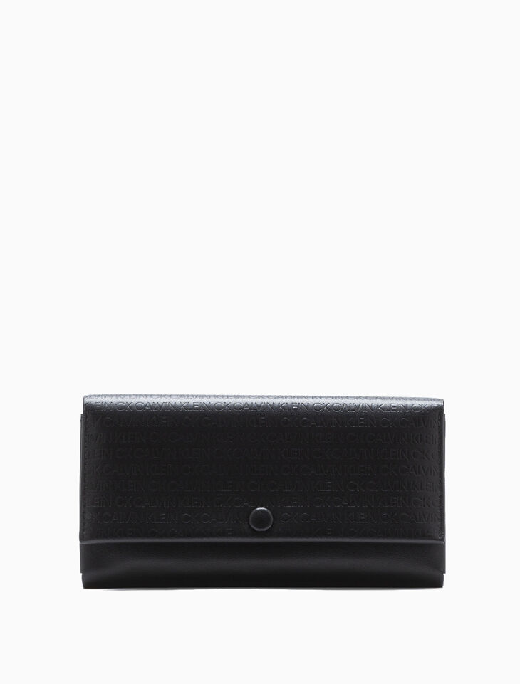 CALVIN KLEIN LONG FLAP WALLET WITH CARDCASE