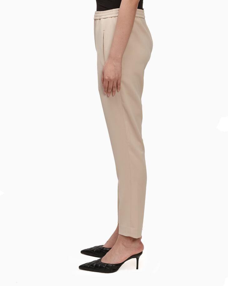 CALVIN KLEIN STRETCH CREPE ELASTICATED PANTS