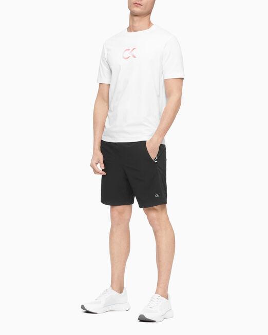 CALVIN KLEIN 남성 패션 로고 반팔 티셔츠