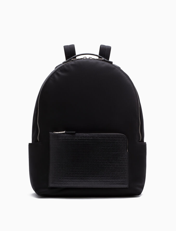 CALVIN KLEIN WOVEN CAMPUS BACKPACK