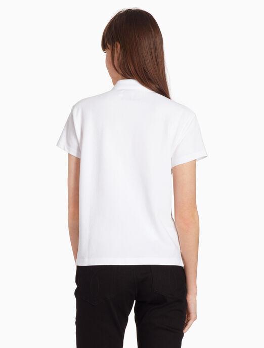 CALVIN KLEIN 모노그램 폴로 셔츠