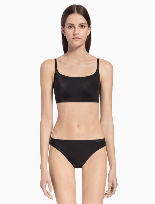 CALVIN KLEIN INVISIBLES LIGHTLY LINED BRALETTE