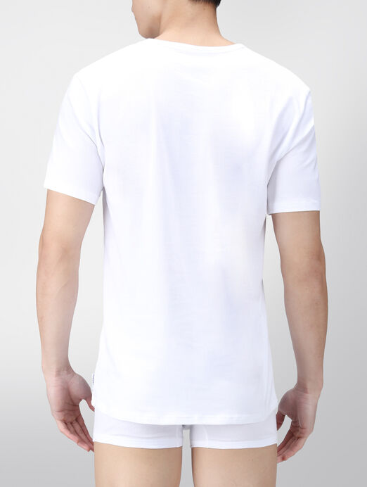 CALVIN KLEIN MODERN COTTON STRETCH 반소매 크루넥 티셔츠 2개입