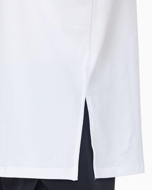 CALVIN KLEIN 여성 마블 로고 보이프렌트 티