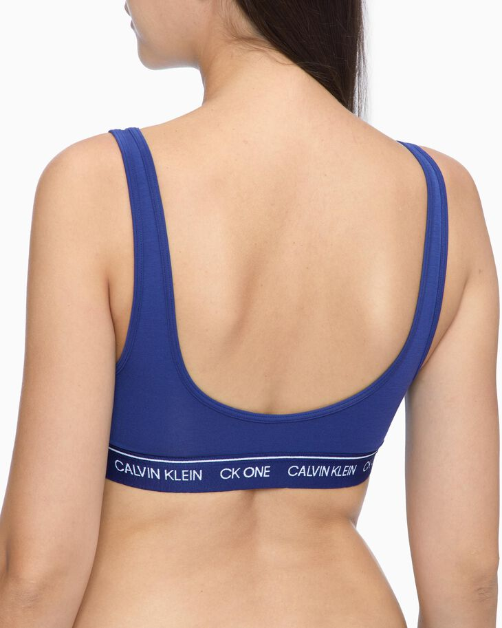 CALVIN KLEIN CK ONE RECYCLED LIGHTLY LINED BRALETTE