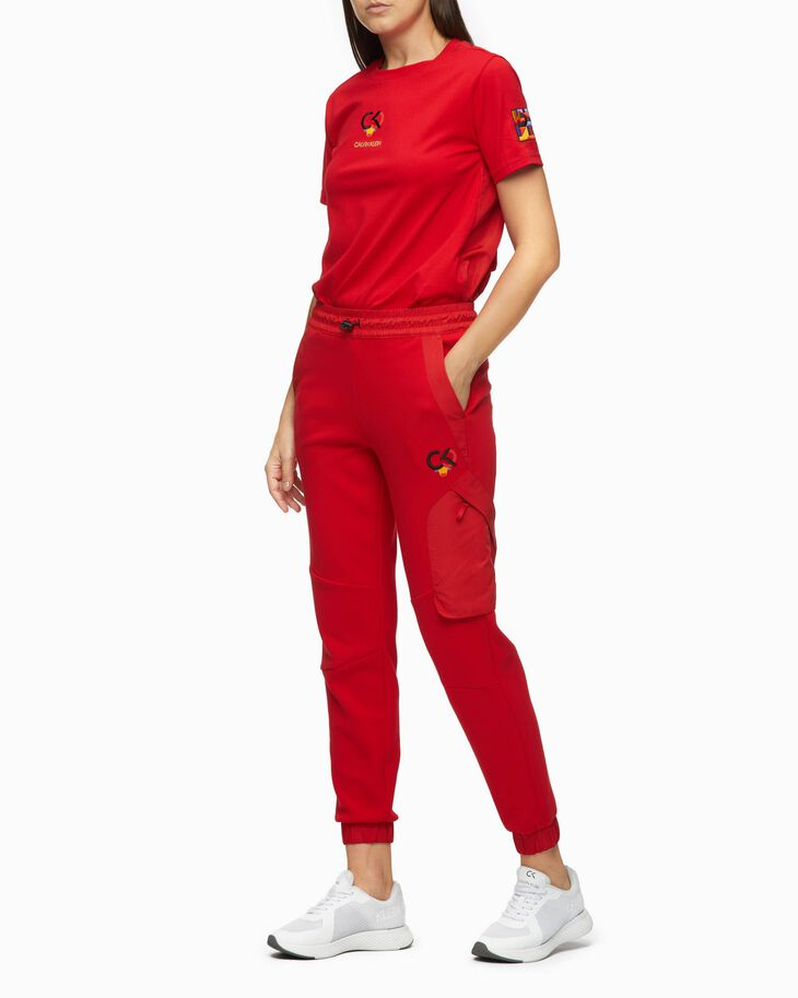 CALVIN KLEIN CHINESE NEW YEAR CAPSULE FABRIC MIX SWEATPANTS