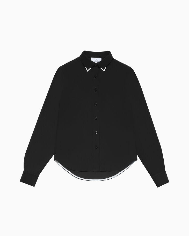 CALVIN KLEIN メタルカラーチップ シャツ