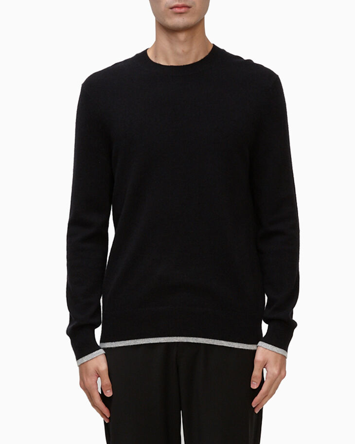 CALVIN KLEIN RECYCLED CASHMERE PULLOVER