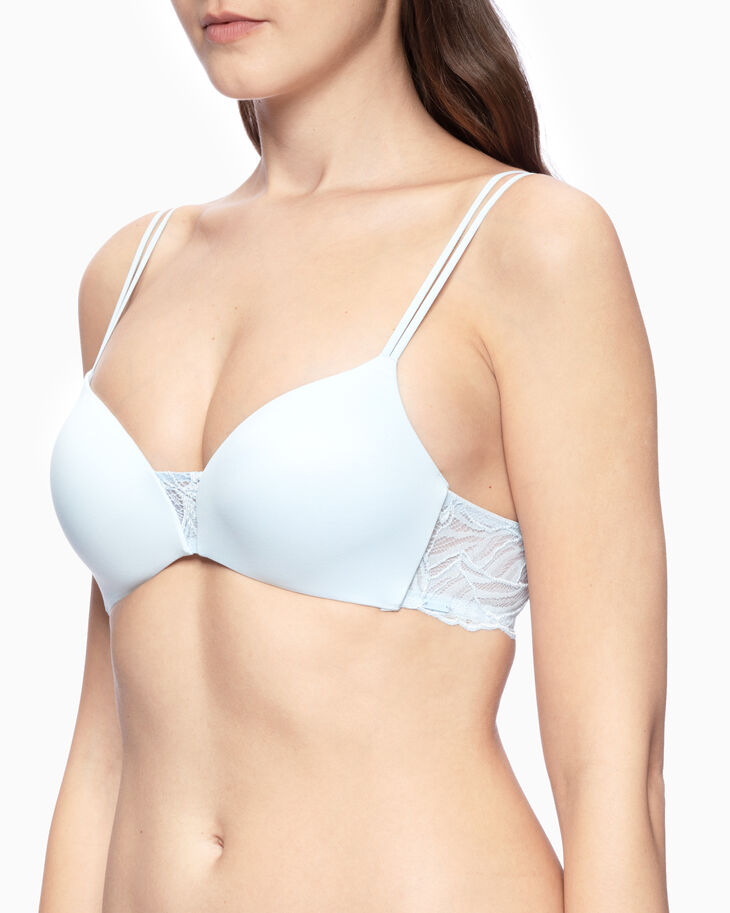 CALVIN KLEIN PERFECTLY FIT IRIS LACE PUSH-UP PLUNGE BRA