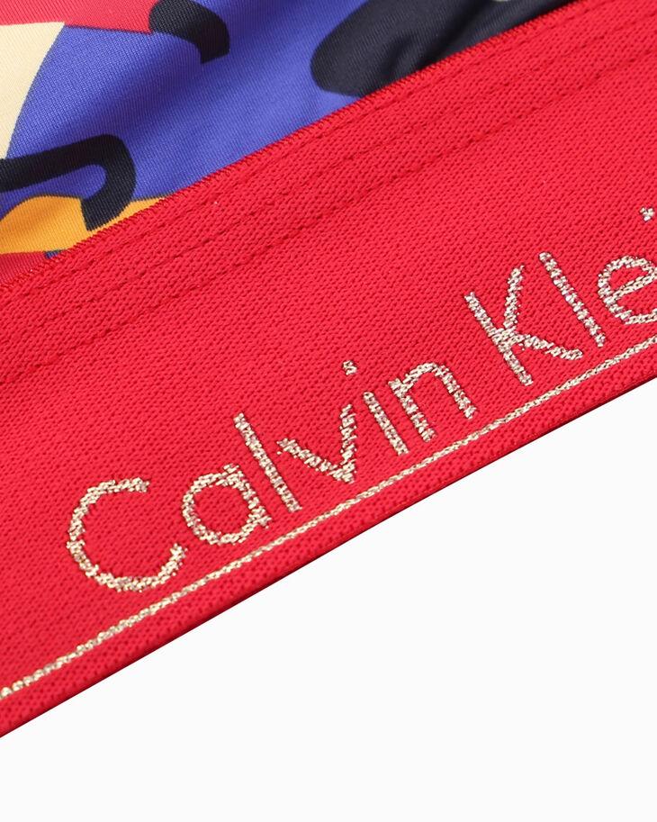 CALVIN KLEIN 春節カプセルコレクション ライトリーラインド ブラレット