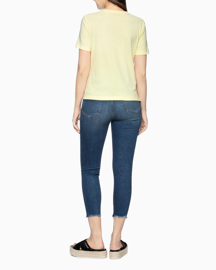 CALVIN KLEIN CKJ 010 HIGH RISE SKINNY CROPPED JEANS