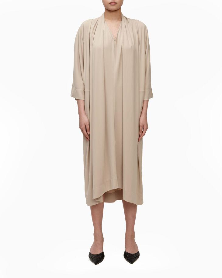 CALVIN KLEIN MATTE CREPE DRESS