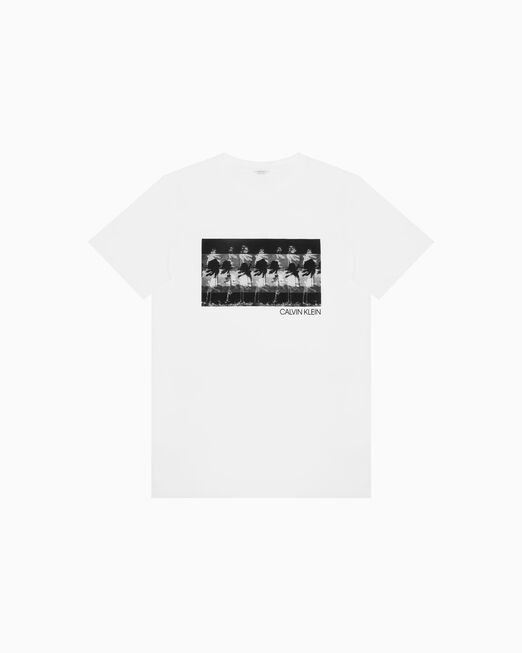 CALVIN KLEIN PHOTOGRAPHIC PRINT 티셔츠