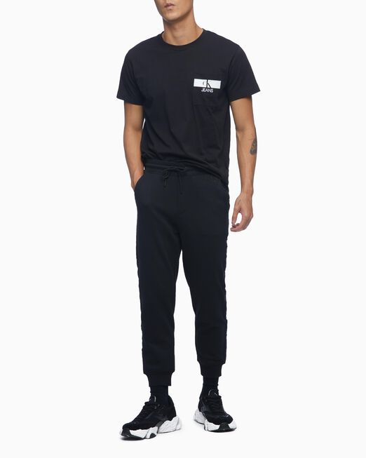 CALVIN KLEIN 남성 레귤러핏 CK 포켓 반팔 티셔츠