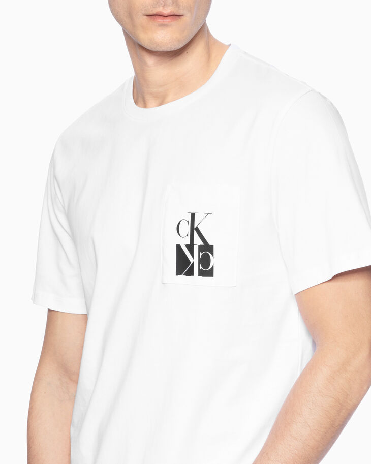 CALVIN KLEIN MONOGRAM POCKET TEE