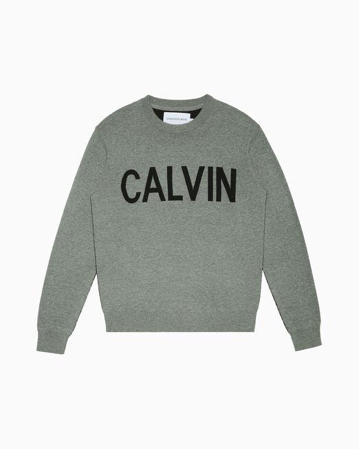 CALVIN KLEIN CALVIN LOGO 스웨터