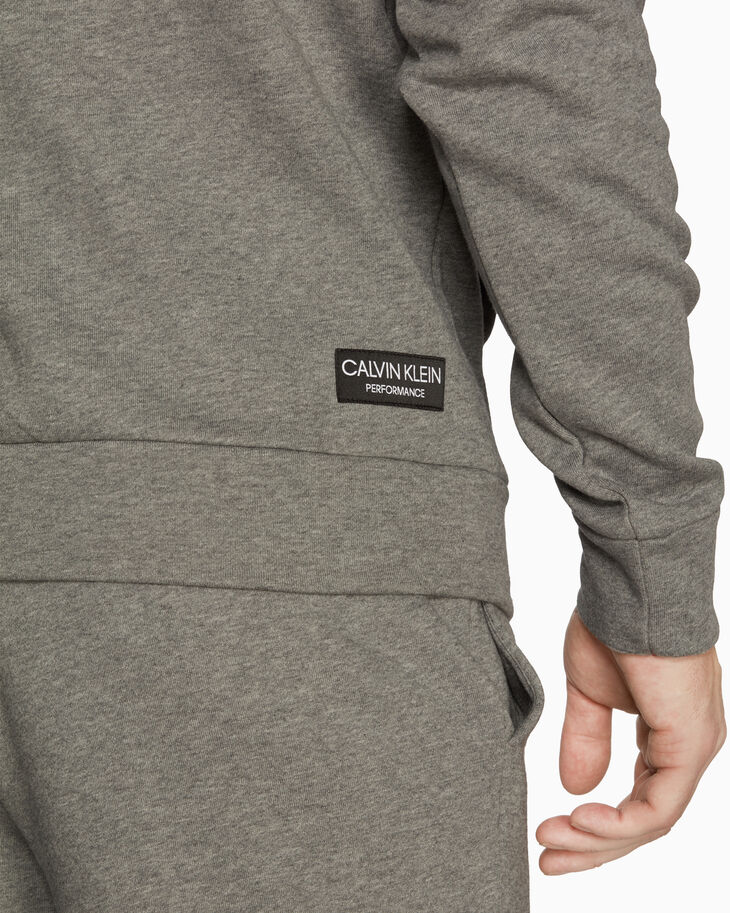 CALVIN KLEIN STATEMENT ESSENTIALS FLEECE HOODIE