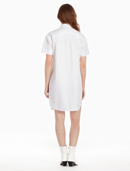 CALVIN KLEIN Z 트위스트 카우보이 셔츠 드레스
