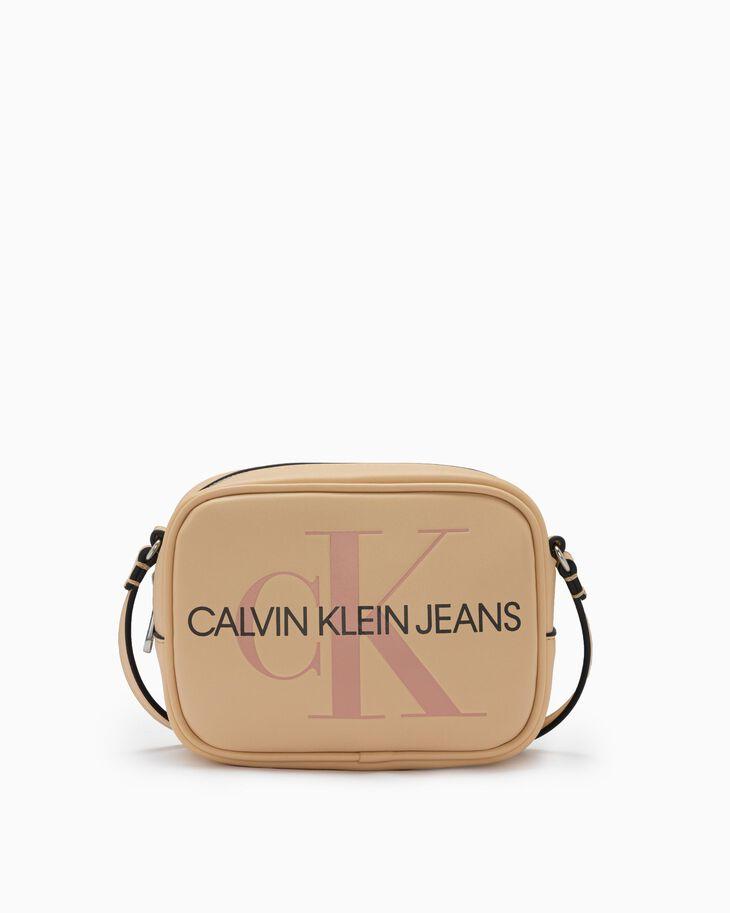 CALVIN KLEIN SCULPTED MONOGRAM CAMERA BAG