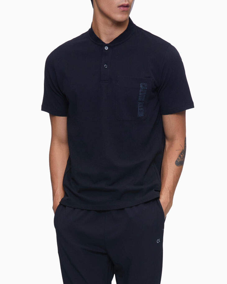 CALVIN KLEIN DIGITAL MOTION POLO SHIRT