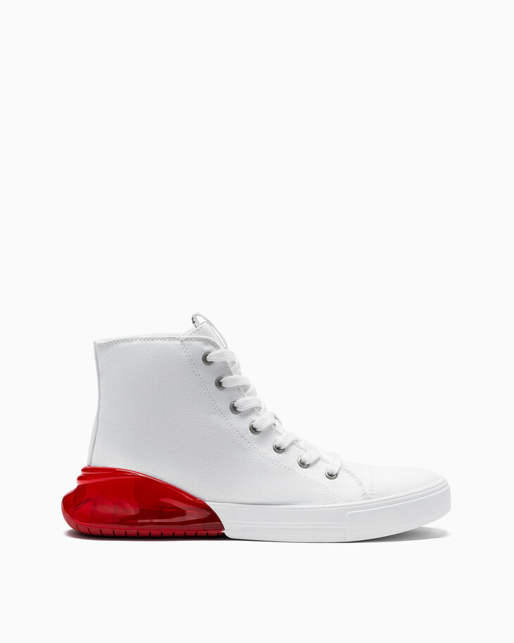 CALVIN KLEIN 高筒帆布運動鞋