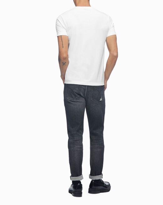 CALVIN KLEIN 남성 CK 모노그램 레인보우 반팔 티셔츠