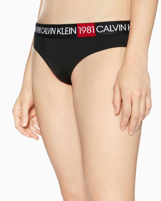 CALVIN KLEIN WOMEN CK1981 BOLD MICRO BIKINI