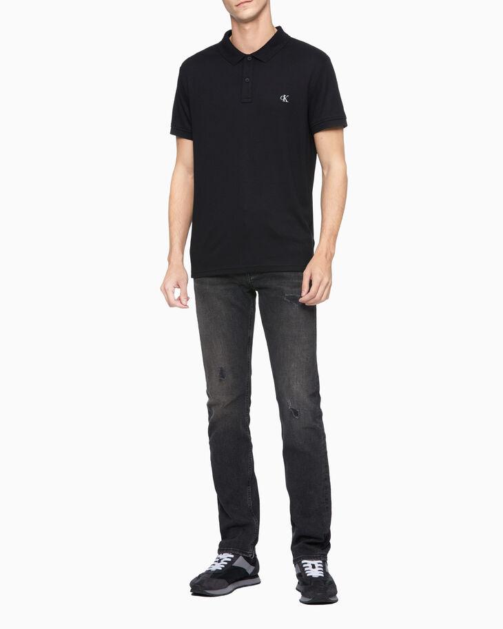 CALVIN KLEIN LIQUID TOUCH レースチェック ポロシャツ