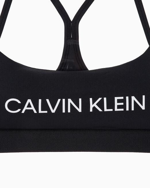 CALVIN KLEIN 여성 코어 로우 서포트 브라