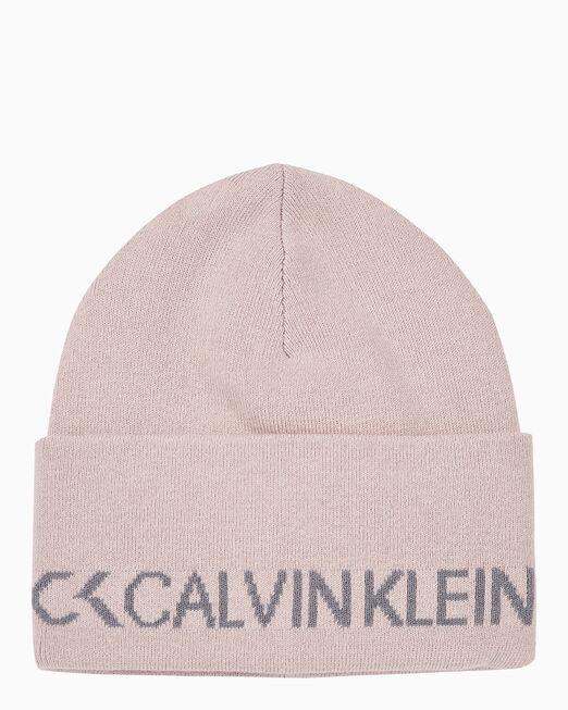 CALVIN KLEIN 남녀공용 CALVIN KLEIN 로고 비니