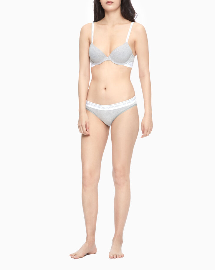 CALVIN KLEIN COTTON LIGHTLY LINED DEMI BRA