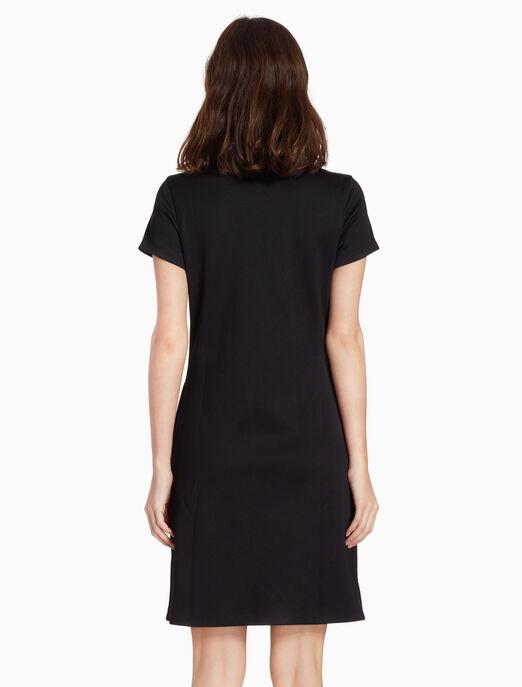 CALVIN KLEIN 니트 시프트 드레스