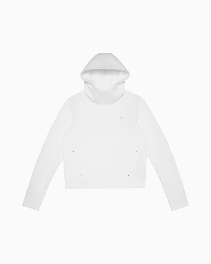 CALVIN KLEIN MODERN SWEAT HOODED PULLOVER SWEATER