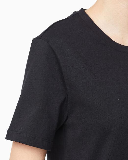 CALVIN KLEIN 여성 센서드 스트레이트 핏 반팔 티셔츠