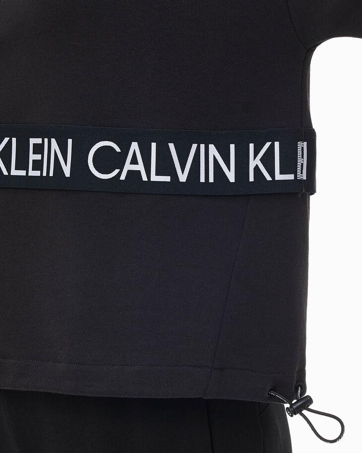 CALVIN KLEIN SUSTAINABLE ACTIVE ICON HALF ZIP PULLOVER SWEATSHIRT