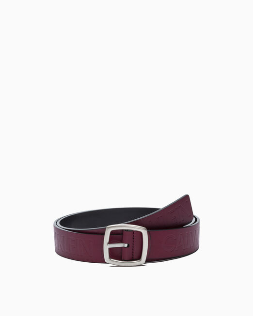 CALVIN KLEIN MAGNIFIED LOGO BELT 38MM