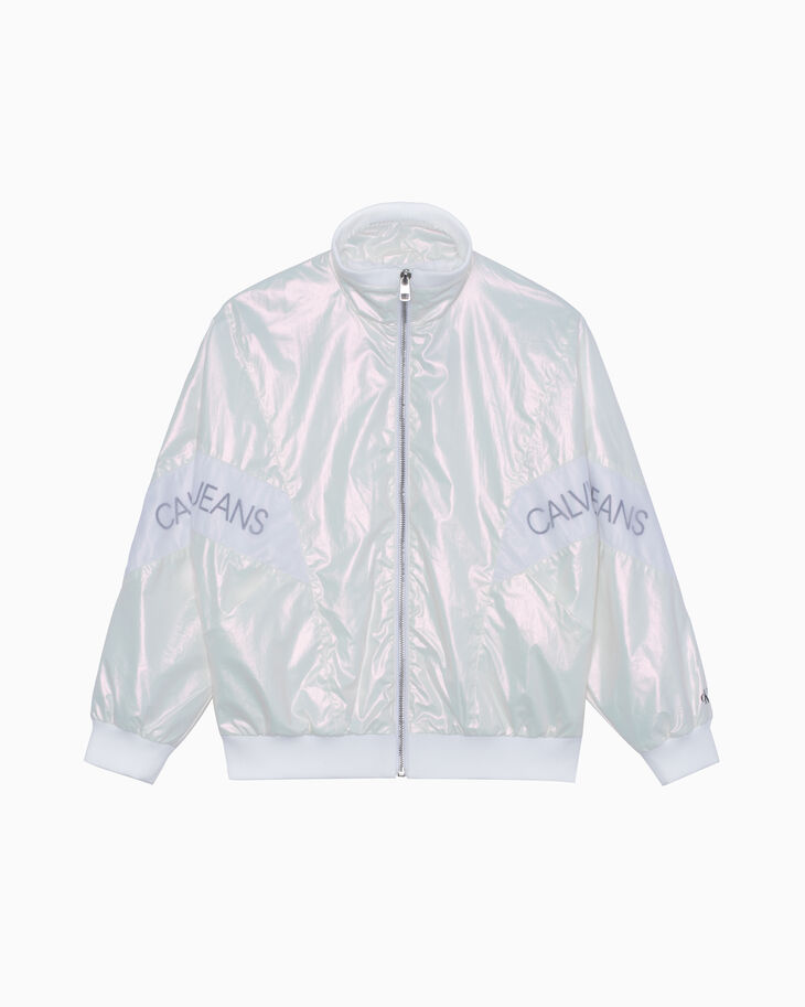 CALVIN KLEIN GIRLS IRIDESCENT JACKET