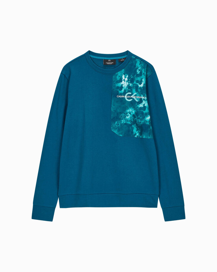 CALVIN KLEIN GRAPHIC POCKET SWEATSHIRT